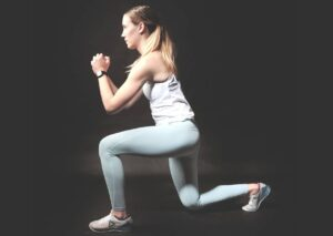 jumping lunges at home